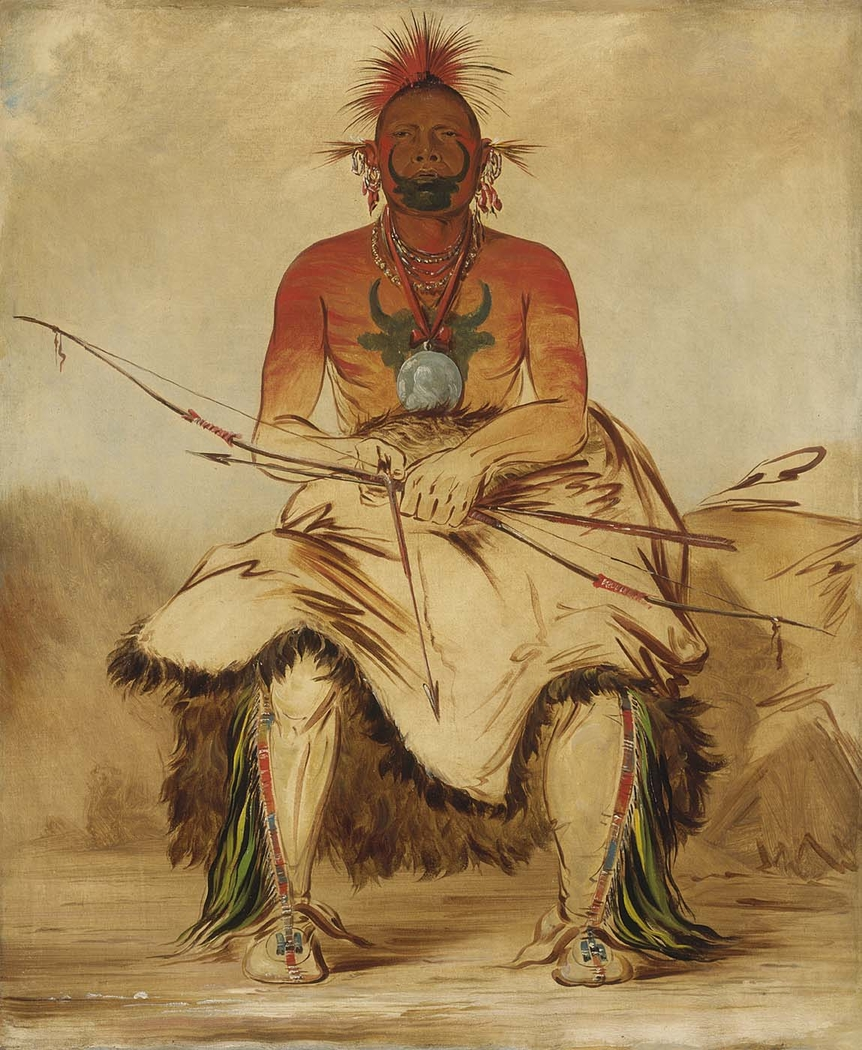 La-dóo-ke-a, Buffalo Bull, a Grand Pawnee Warrior
