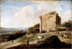 Landscape with a Roman Ruin