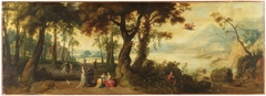Landscape with Mercury and Herse