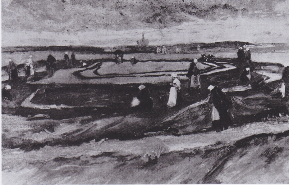 Landscape with Net Menders