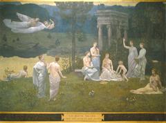 Le Bois sacré cher aux arts et aux Muses