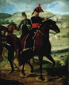 Le général Louise-Marie Turreau (1756-1816), lors de l'affaire de Gravière (8 prairial, an VIII - 21 mai 1800) (P747)