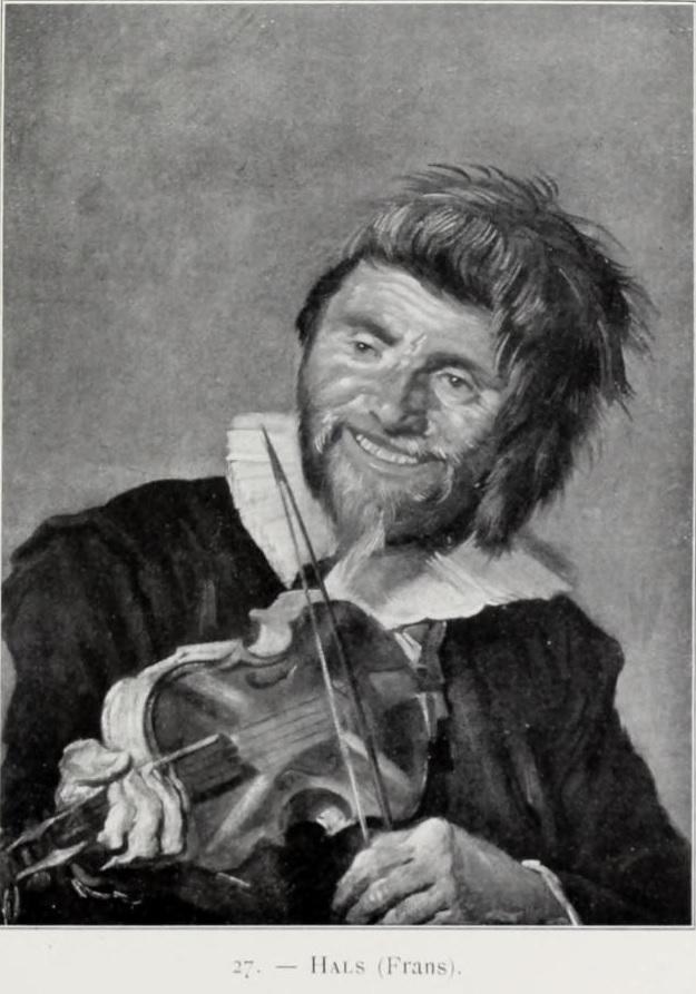 Left-handed fiddler