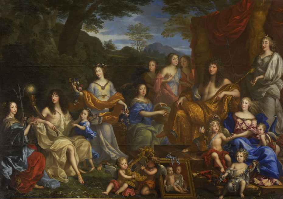 Louis XIV and the royal family