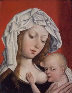 ''Madonna Nursing the Christ Child''