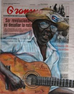 Mambí con guitarra