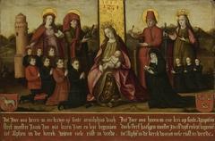 Memorial Panel for Jacob Jan van Assendelft  and his Wife Haesgen van Outshoorn