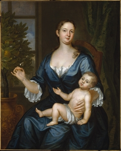 Mrs. Francis Brinley and Her Son Francis