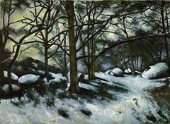 Neige fondante à Fontainebleau (Melting Snow, Fontainebleau)