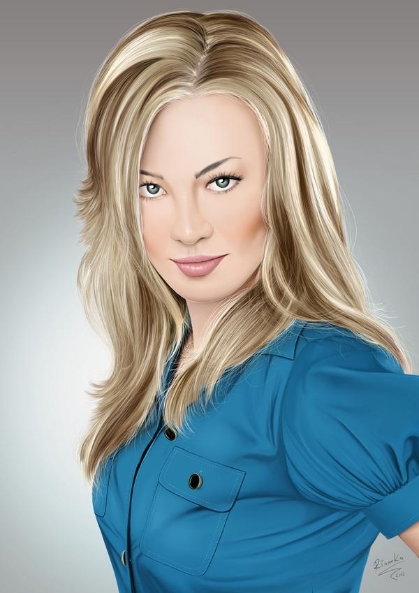 Yvonne Strahovski (Sarah Walker - Chuck)