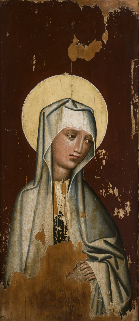 Our Lady of Sorrows from the parish church of St Ursula in Korzenna
