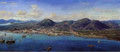 Panorama de Santos, 1822