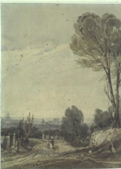 Paris from Pere Lachaise