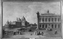 Piazetta mit Blick auf Santa Maria della Salute (Nachahmer)