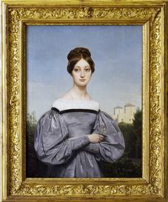 Portrait de Louise Vernet, fille de l'artiste
