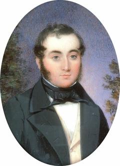 Portrait of a Gentleman in a Black Coat