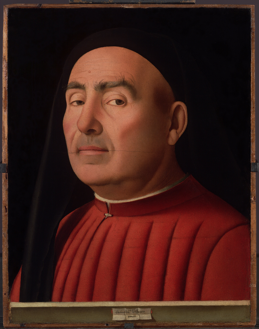 Portrait of a Man (Antonello da Messina, Turin)