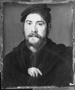 Portrait of a Man with Right Hand