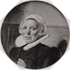 Portrait of a woman aged 60