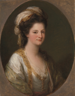 Portrait of a woman, traditionally identified as Lady Hervey