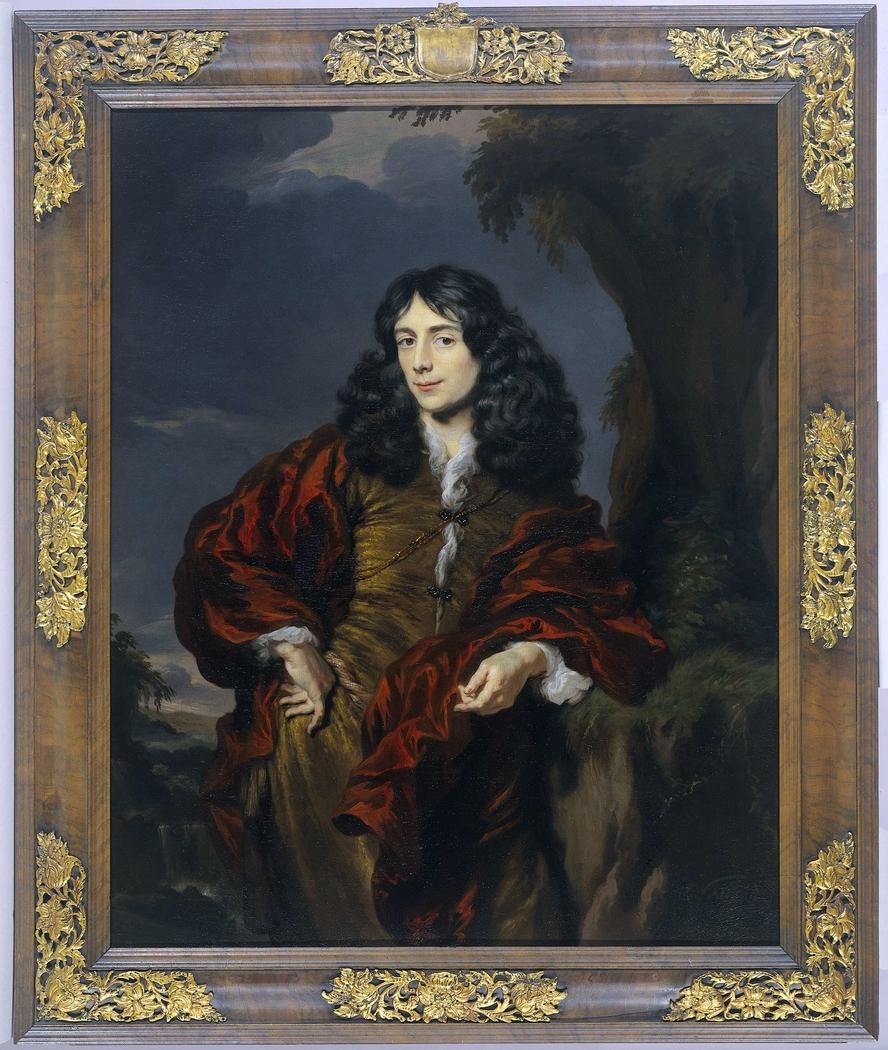 Portrait of a young man, possibly Simon van Alphen (1650-1730)