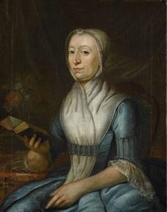 Portrait of Eva Goudriaan-de Veer