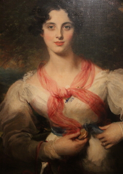 Portrait of Harriott West (Later Mrs. William Woodgate)