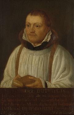 Portrait of Huybert Duyfhuys, Minister of St Jacobskerk in Utrecht