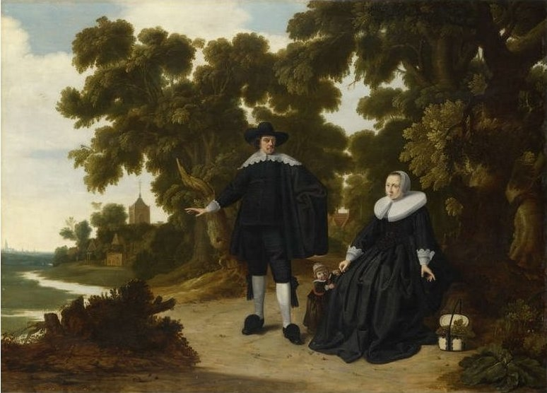 Portrait of Jan van Hensbeeck, his Wife and a Child