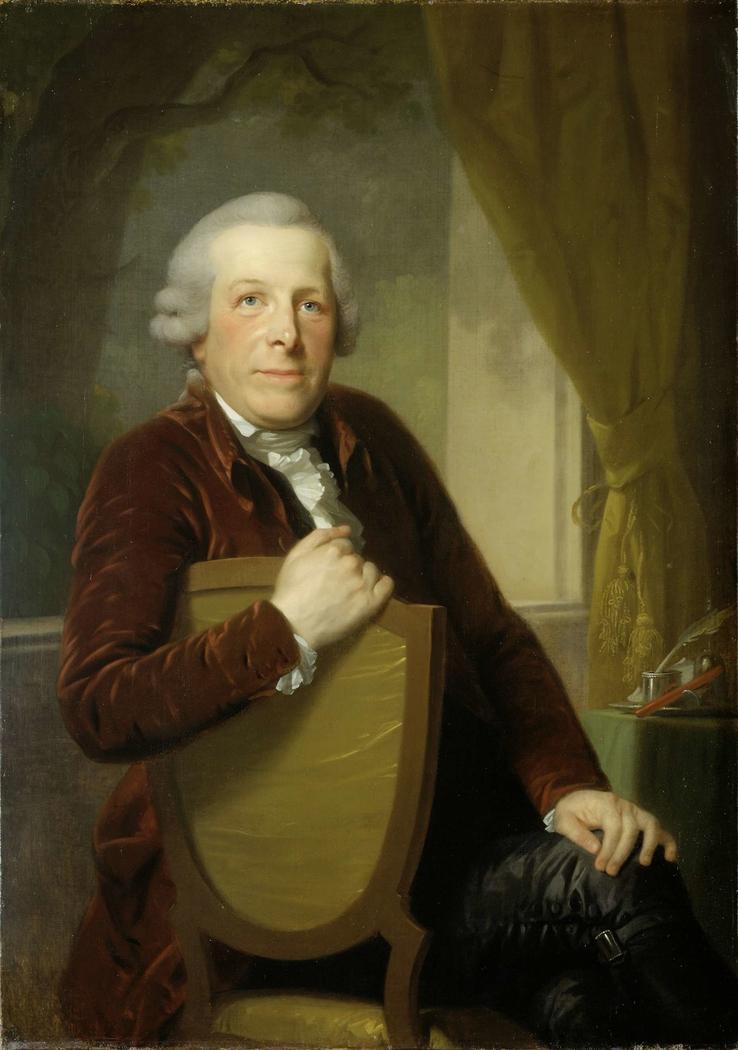 Portrait of Johannes Lublink II, Philosopher, Writer and Statesman
