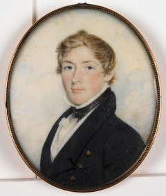 Portrait of John Woods Poinier