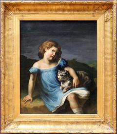 Portrait of Louise Vernet