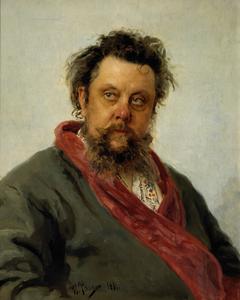 Portrait of M. P. Musorgsky