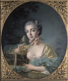Portrait of madame Badouin, the artist's daughter