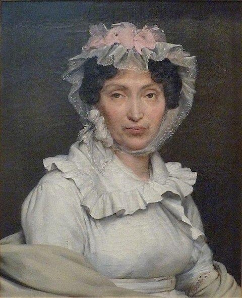 Portrait of Marguerite-Julie Morel