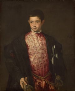 Portrait of Ranuccio Farnese