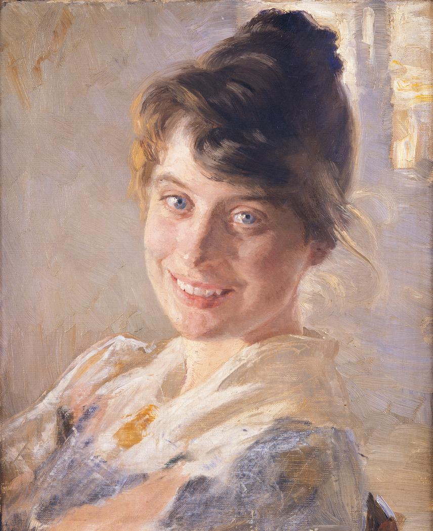 Portrait of the Artist'sWife Marie