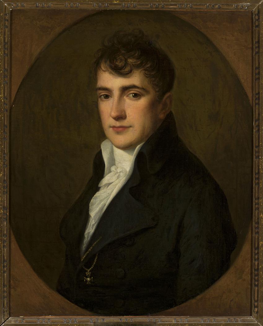 Portrait of Wojciech Męciński