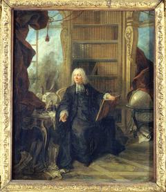 Portrait présumé de l'abbé Jean-Antoine Nollet (1700-1770)