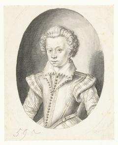 Portret van Henri de Bourbon, Prince de Condé