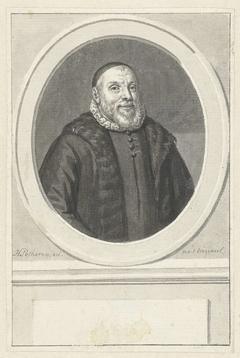 Portret van Johannes Cuchlinus