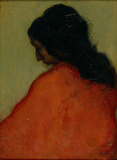 Profile of a Gypsy Woman