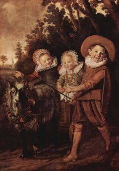 Right half of Gijsbert Claesz. van Campen family portrait