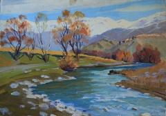 River in Eghegnadzor