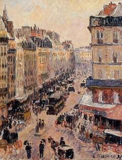 Rue Saint-Lazare, Effect of Sunlight