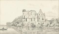 Ruïne van Burg Altena te Schüttorf, graafschap Bentheim