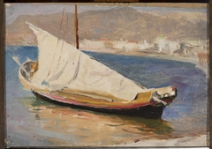 Sail boat – Yalta. From the journey to Crimea