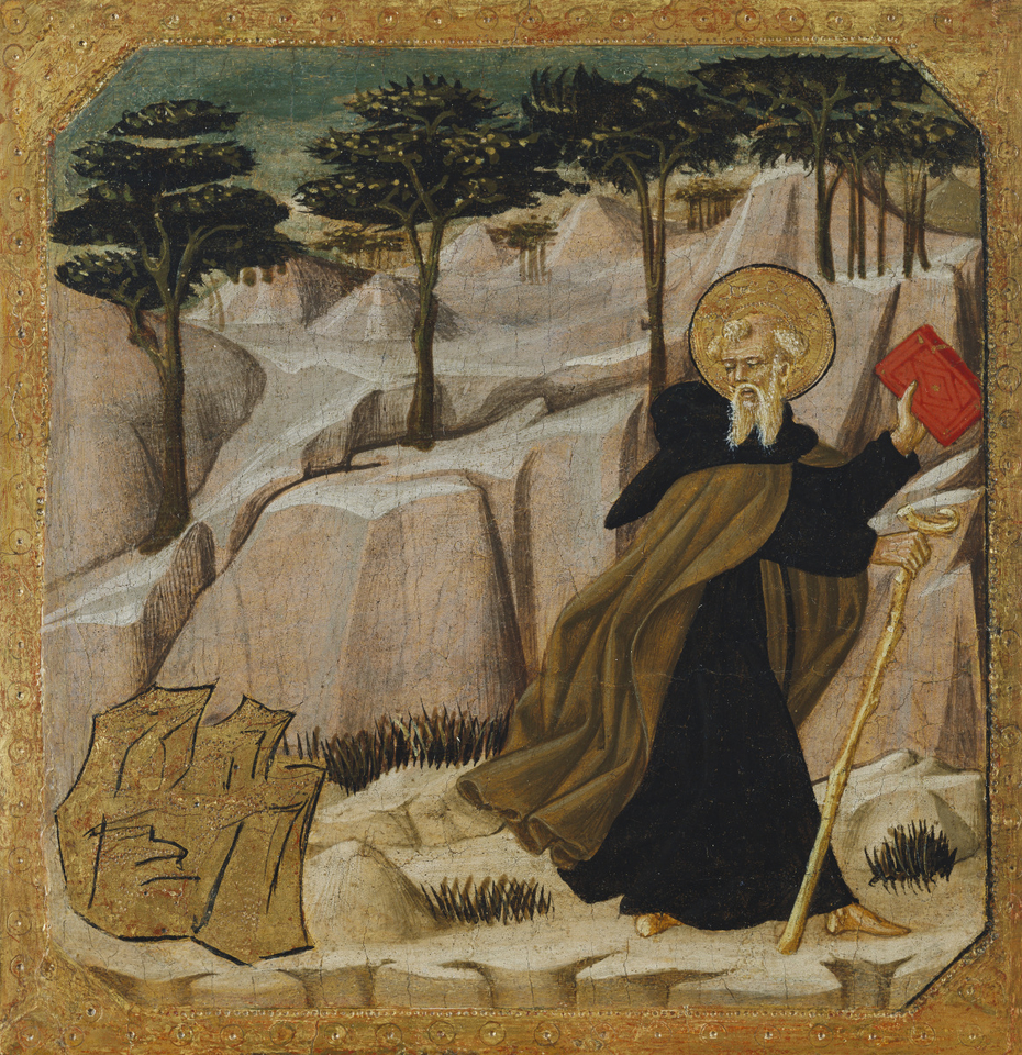 Saint Anthony Abbot Tempted by Gold