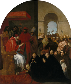 Saint Bruno and his Companions before Urban II