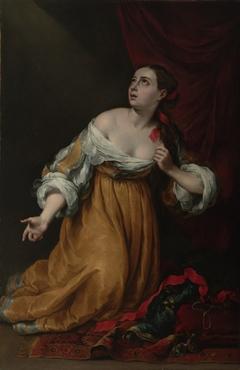 Saint Mary Magdalene Renouncing the Worldly Life
